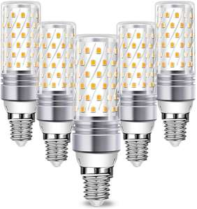 5x Bombillas LED 16W E14 solo 3.9€