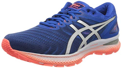 Asics Gel-Nimbus 22, Running Shoe Mens, Tuna Blue/Pure Silver, 46 EU