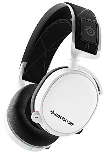 Auriculares de Juego - inalámbricos sin pérdidas - DTS Headphone:X v2.0 Surround para PC y Playstation 4 - Blanco [Edición 2019]