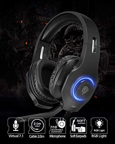Auriculares Gaming estéreo 7.1 Usb