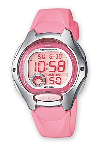 Casio Collection, LW-200-4BVEF, Reloj Digital para Mujer, Multicolor