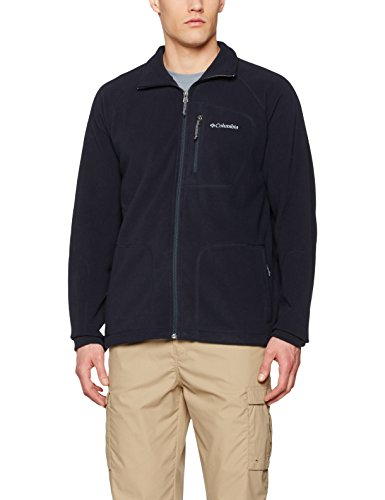 Columbia Fast Trek II Full Zip Fleece Chaqueta Polar, Hombre, Azul (Abyss), XL