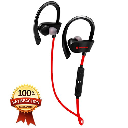 Damitech Auriculares Bluetooth Inalámbricos de calidad inalámbrica Bluetooth (Red)