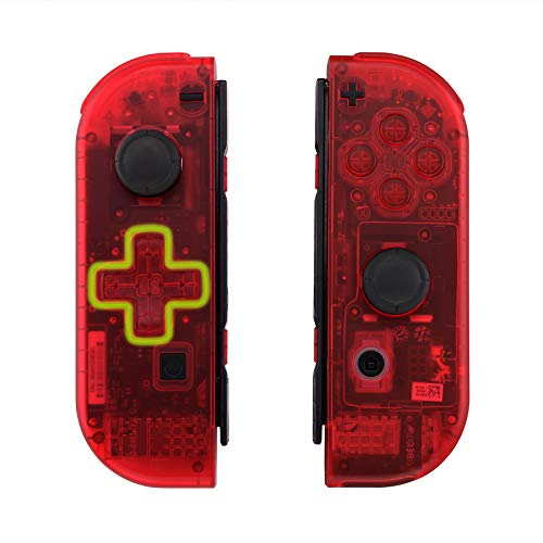 Funda transparente mandos Nintendo Switch