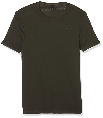 G-STAR RAW Base R T S/s 2-Pack, Camiseta para Hombre, Gris (Asfalt 995), Medium