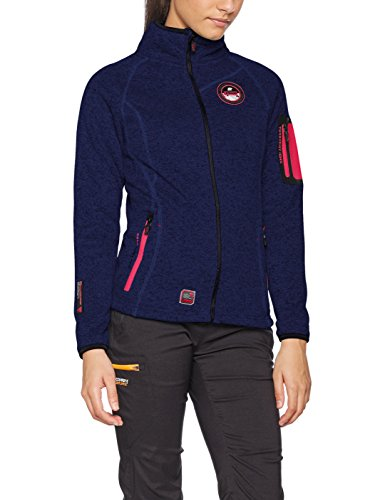 Geographical Norway Trapeze Lady, Chaqueta para Mujer, Azul Navy, X-Large