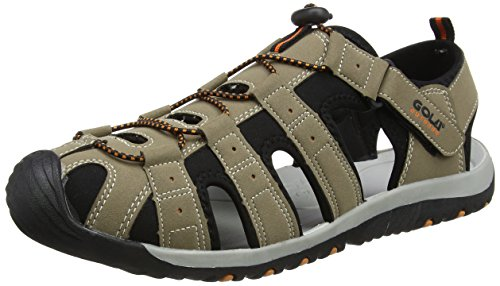 Gola Shingle 3, Sandalias Atléticas, Hombre, Beige (Taupe/Black/Burnt Orange), 42 EU