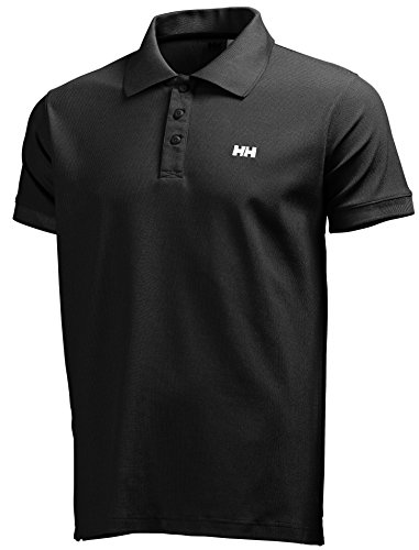 Helly Hansen New Driftline Polo - Polo para hombre, color negro (black), talla M