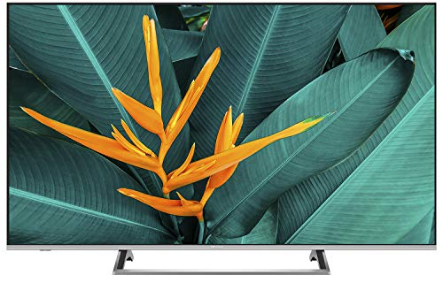Hisense - Smart TV ULED 55' 4K Ultra HD, 3 HDMI, 2 USB, salida óptica, Wifi, Bluetooth, Dolby Vision HDR, Wide Color Gamut, Audio DTS, Procesador Quad Core, Smart TV VIDAA U 3.0 con IA