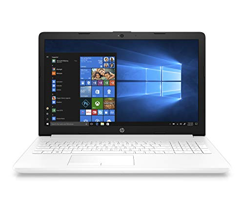 "HP Notebook 15-db0045ns - Ordenador Portátil 15.6"" HD (AMD Ryzen 5, 12 GB RAM, 256 GB SSD, AMD Radeon, Windows 10), Color Blanco - Teclado QWERTY Español"