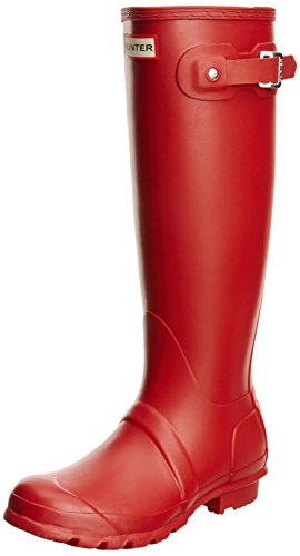 Hunter Original Tall, Botas Mujer, Rojo (Military Red), 35.5 EU