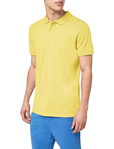 JACK & JONES Jjebasic Polo SS Noos, Hombre, Amarillo (Celandine Detail: Slim Fit) Small