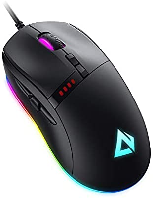 Knight ratón gaming 10000dpi