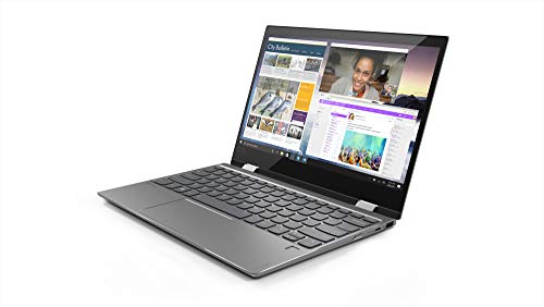 "Lenovo Yoga 720-12IKBR - Ordenador portátil Convertible 12.5"" Full HD (Intel Core i3-7100U, 8GB RAM, 128GB SSD, Intel UHD Graphics620, Windows 10 Home) Gris - Teclado QWERTY Español"