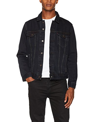 Levi's the Jacket, Chaqueta Vaquera para Hombre, Negro (Midnight Carbon Trucker 239), Medium