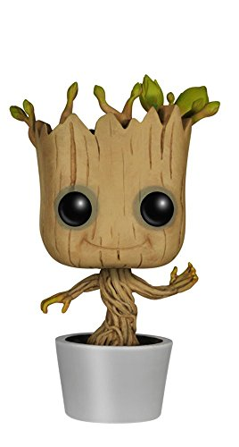 Marvel - Figura de vinilo Dancing Groot, colección Guardians of the Galaxy (Funko 5104)