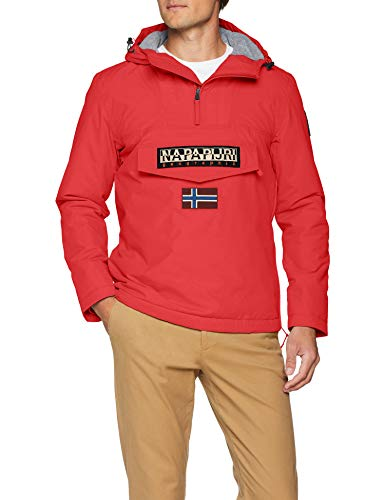 Napapijri Rainforest Winter, Chaqueta para Hombre, Rojo (Pop Red R41), X-Large