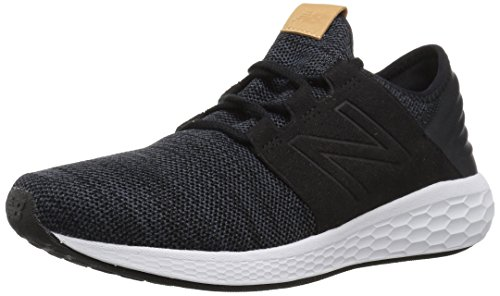 New Balance Fresh Foam Cruz V2 Knit, Zapatillas de Running para Hombre, Negro (Black/Magnet/White Kb2), 43 EU
