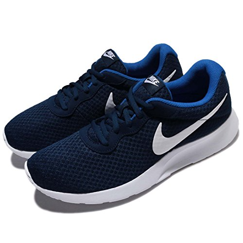 NIKE Tanjun, Zapatillas para Hombre, Azul (Midnight Navy/White-Game Royal 414) 47.5 EU