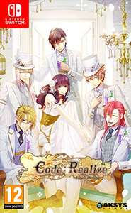 """Nintendo Switch - Code: Realize """"Future Blessings"""" (Visual Novel)"""