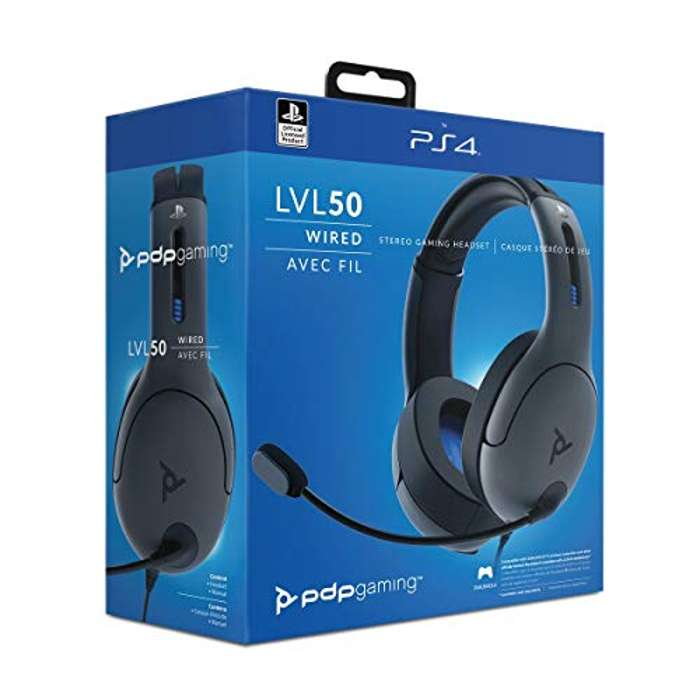 PDP - Auricular Gaming LVL50 con cable (PS4)