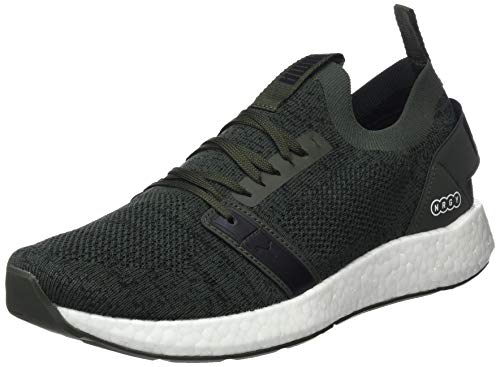 Puma Nrgy Neko Engineer Knit, Zapatillas de running para Hombre, Verde (Forest Night Black 05), 40.5 EU