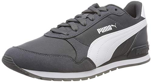 Puma St Runner V2 Nl, Zapatillas de Cross Unisex adulto, Gris (Iron Gate-Puma White 12), 44.5 EU