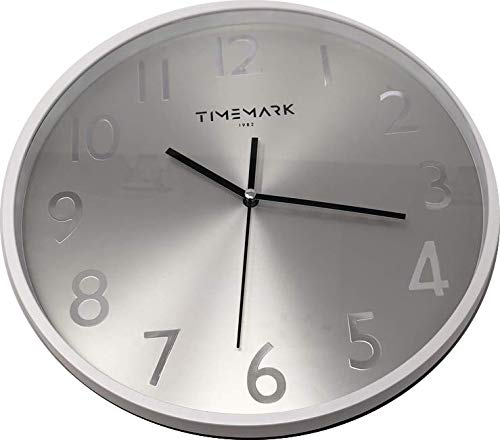 Reloj de Pared. Borde de Color Blanco CL103B