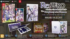 Re:ZERO - The Prophecy of the Throne Limited Nintendo Switch