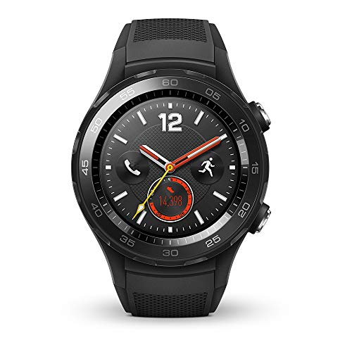 Smartwatch Android (Bluetooth, WiFi, 4G) Color Negro (Carbon)
