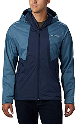 TALLAS S y M.  Columbia Inner Limits II Chaqueta Impermeable, Hombre