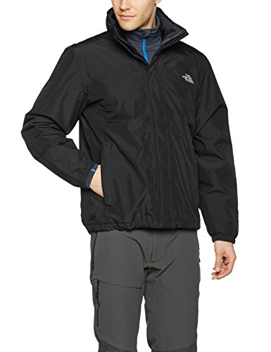 The North Face M Resolve Insulated Jacket - Chaqueta  para hombre, color negro, talla S