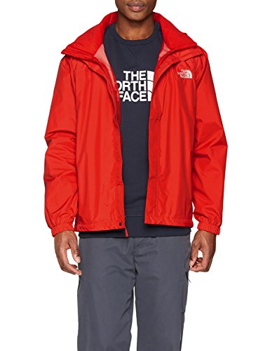 The North Face M Resolve Jacket Chaqueta, Hombre, Rojo, 2XL