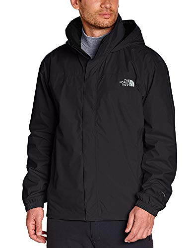 The North Face M Resolve Jacket Chaqueta, Hombre, TNF Black/TNF Black, L