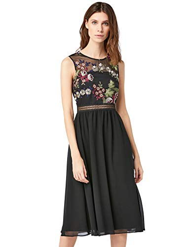 TRUTH & FABLE Jcm40479 Vestidos de Fiesta para Bodas (Multicoloured) 48 (Talla del Fabricante: XXX-Large)