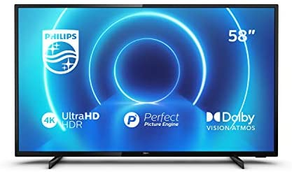 TV philips 58 pulgadas led 4k uhd