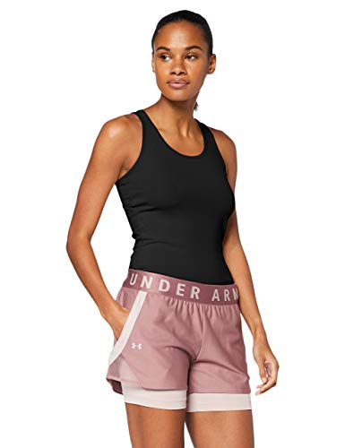 Under Armour Victory Tanque, Mujer, Negro, SM