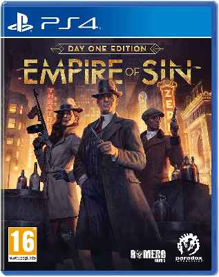 Videojuego Empire of Sin: Day One - PS4