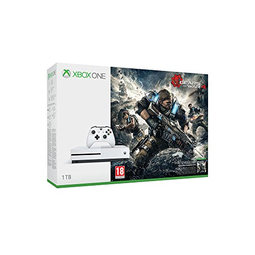 Xbox One S - Consola 1 TB + Gears Of War 4